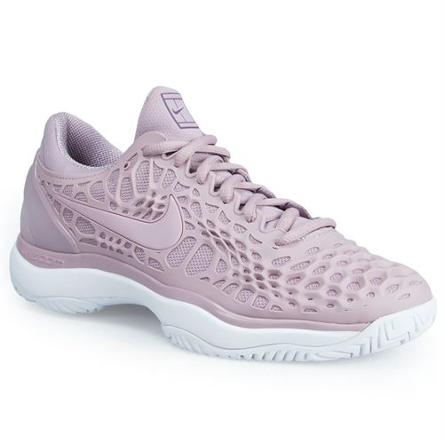 Nike Zoom Cage 3 Womens Tennis Shoe - Rose/White