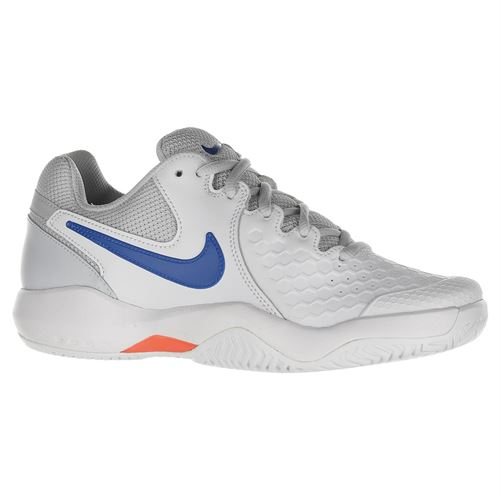 Nike Air Zoom Resistance Womens Tennis Shoe - White/Blue Nebula/Hot Lava/Pure Platinum