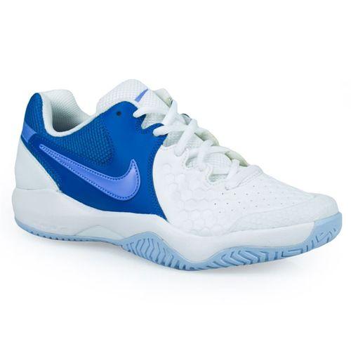 Nike Air Zoom Resistance Womens Tennis - White/Monarch Purple/Military Blue