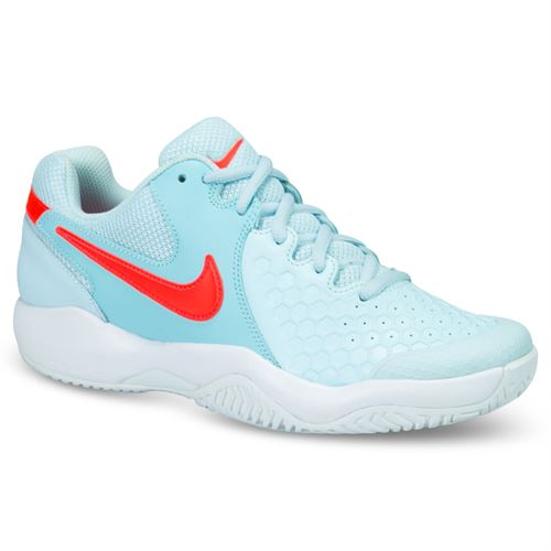 Nike Air Zoom Resistance Womens Tennis Shoe - Topaz Mist/Crimson/Still Blue