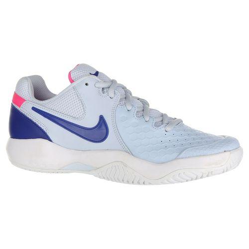 Nike Air Zoom Resistance Womens Tennis Shoe - Half Blue/Indigo Force/Pink Blast/White