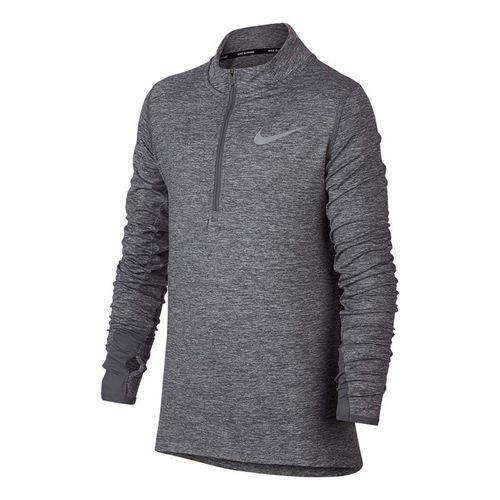 Nike Dry Boys Element Half Zip - Cool Grey