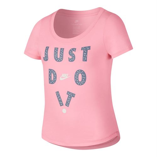 Nike Girls Just Do It Top - Pink