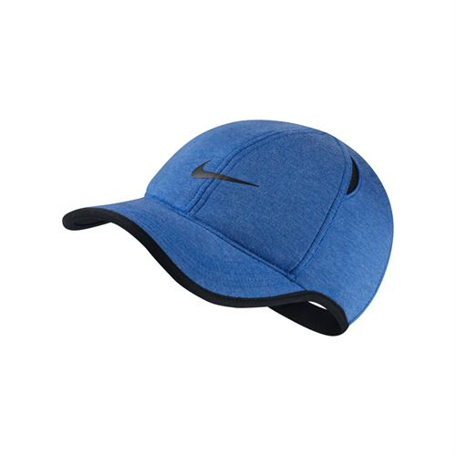 cb5250ad605 Nike Aerobill Featherlight Hat - Light Royal Heather Black