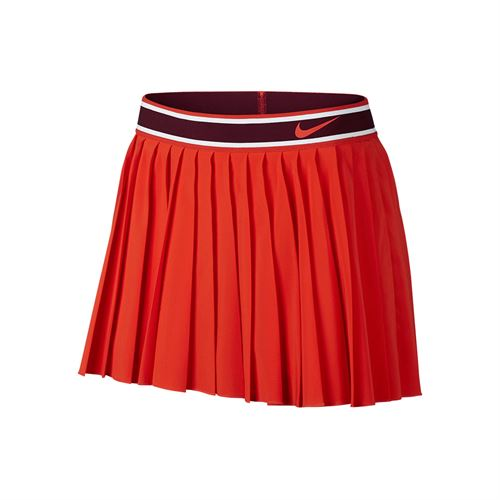 6890cbaf0a Nike Court Victory Pleated Skirt - Habanero Red