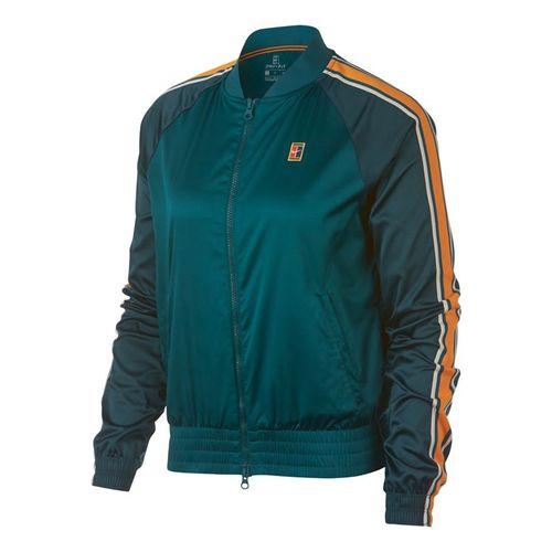 Nike Court Jacket - Rainforest/Orange Peel