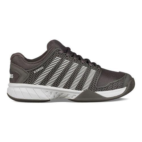 K Swiss Hypercourt Express Womens Tennis Shoe - Grey/White
