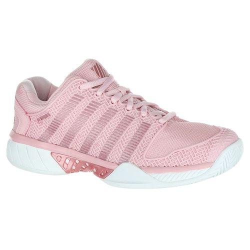 K Swiss Hypercourt Express Womens Tennis Shoe - Coral Blush/White