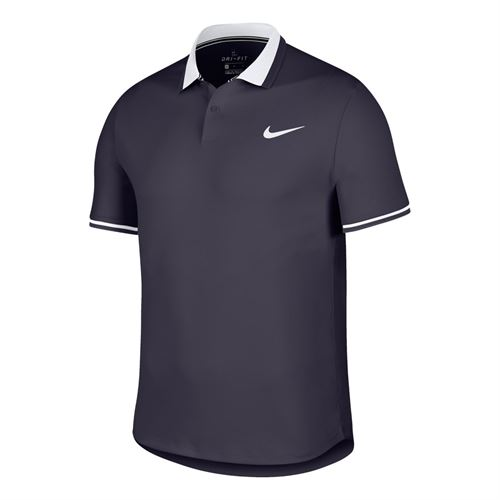 Nike Court Advantage Polo - Gridiron/White