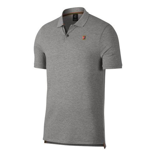 99de9d8d97 Nike Court Polo - Dark Grey Heather White