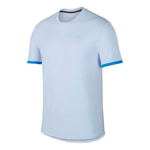 774658e0edb4 Nike Court Dry Crew - Half Blue Photo Blue