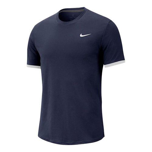 Nike Court Dry Crew - Obsidian/White