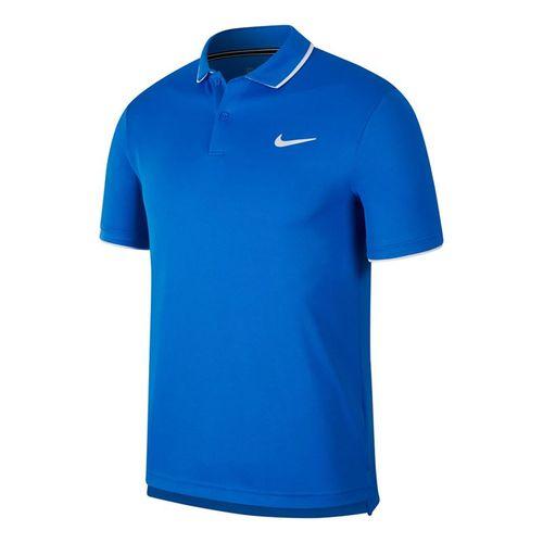 Nike Court Dry Team Polo - Signal Blue/White