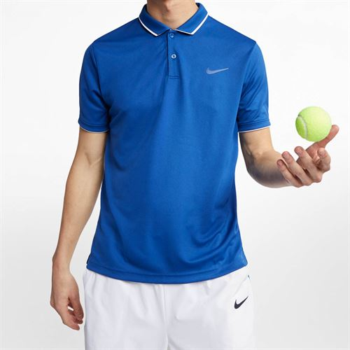 a3a8f0a13a682 Nike Court Dry Polo, 939137 438 | Men's Tennis Apparel