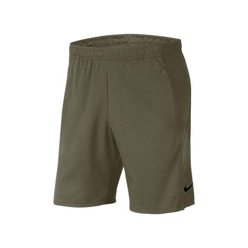 Nike Court Dry 9 inch Short Mens Medium Olive 939265 222
