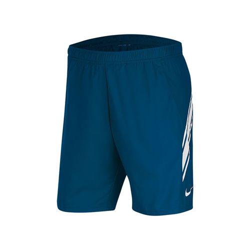 Nike Court Dry 9 inch Short Mens Valerian Blue/White 939265 432