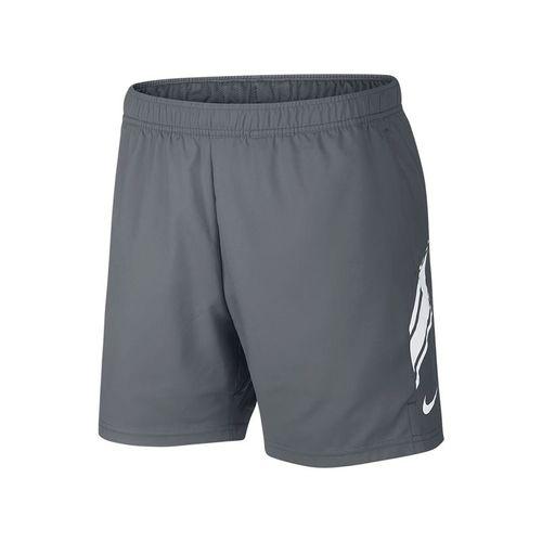 Nike Court Dry Short - Cool Grey White d3cd0de15c93