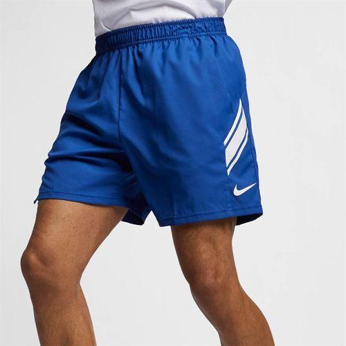 9ae0a44119590 Nike Court Dry Short - Indigo Force White