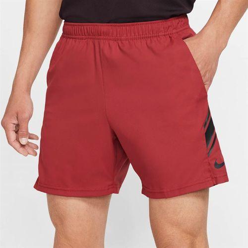 Nike Court Dry Short Mens Team Crimson /Black 939273 613