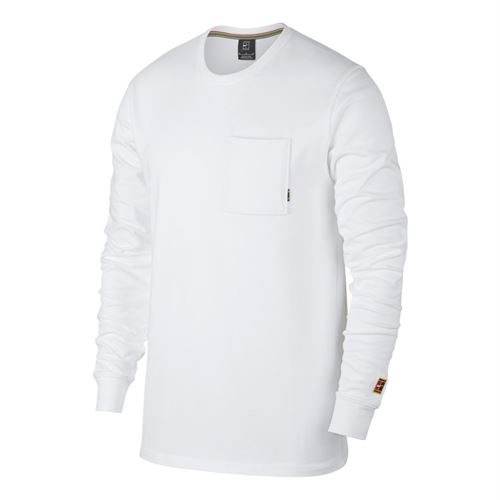 20bd7baf Nike Court Heritage Long Sleeve, 939280 100   Men's Tennis Apparel