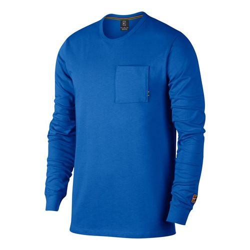 8de3fe48 Nike Court Heritage Long Sleeve, 939280 403 | Men's Tennis Apparel