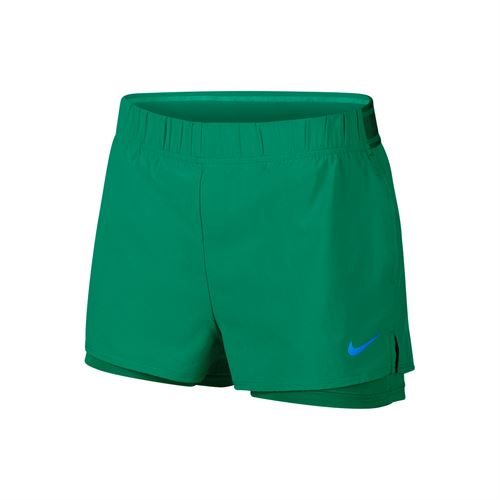 0edcdf9edf5 Nike Court Flex Short - Lucid Green Photo Blue