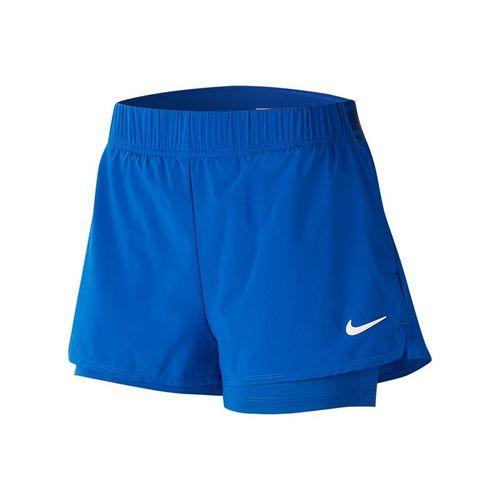 Nike Court Flex Short Womens Game Royal/White 939312 480