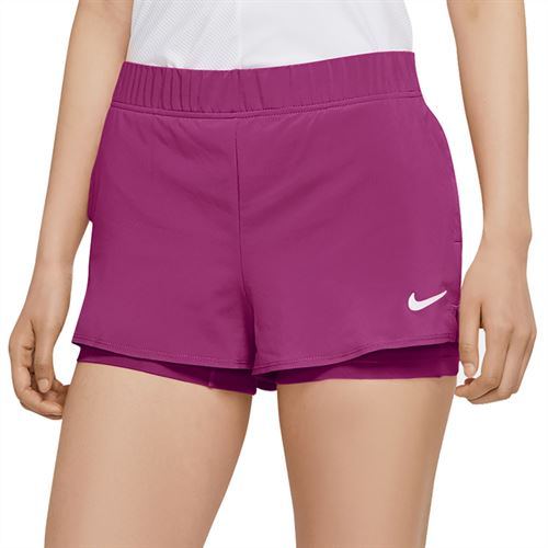 Nike Court Flex Short Womens Cactus Flower/White 939312 564