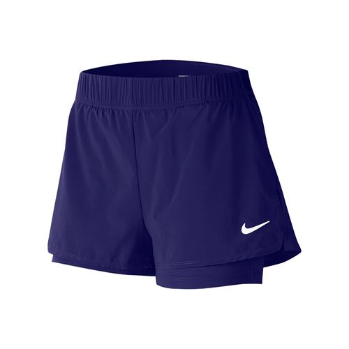 Nike Court Flex Short Womens Regency Purple/White 939312 590
