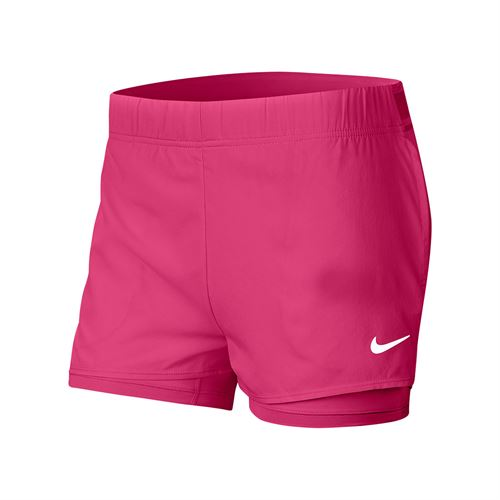 Nike Court Flex Short Womens Vivid Pink/White 939312 616