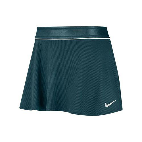 Nike Court Flouncy Skirt Womens Dark Atomic Teal/White 939318 300