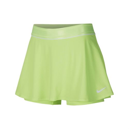 Nike Court Dri Fit Skirt Womens Ghost Green/White 939318 358