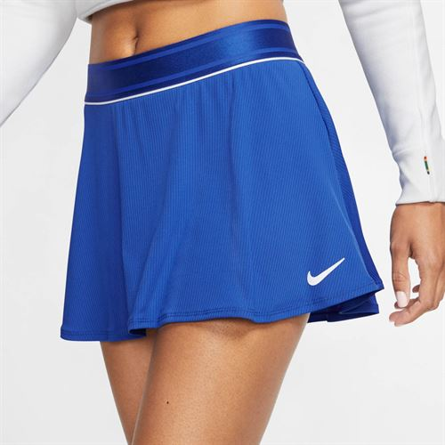 Nike Court Dri Fit Skirt Womens Game Royal/White 939318 480