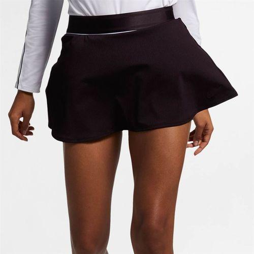 Nike Court Dry Flounce Skirt - Burgundy Ash/White