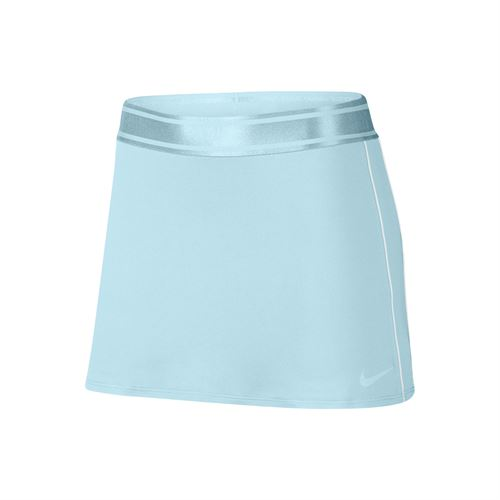 Nike Court Dry Skirt - Topaz Mist/White