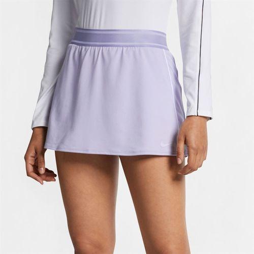 Nike Court Dry Skirt Tall - Oxygen Purple/White