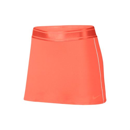 Nike Court Dry Skirt Tall - Orange Pulse/White