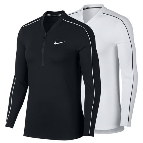 Nike Court Dry Long Sleeve 1/2 Zip Top