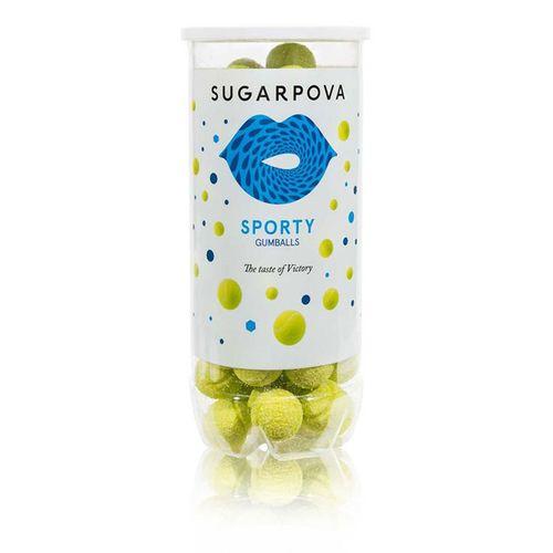 Sugarpova Sporty Tennis Ball Gum Green Can