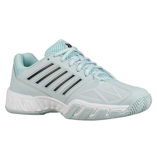 K Swiss Bigshot Light 3 Womens Tennis Shoe - Pastel Blue/Black/White