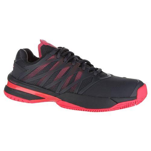 K Swiss Ultrashot Womens Tennis Shoe - Magnet/Neon Pink