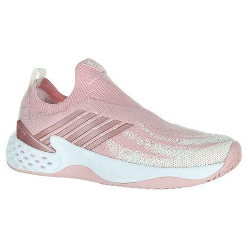 K Swiss Aero Knit Womens Tennis Shoe - Coral Blush/White