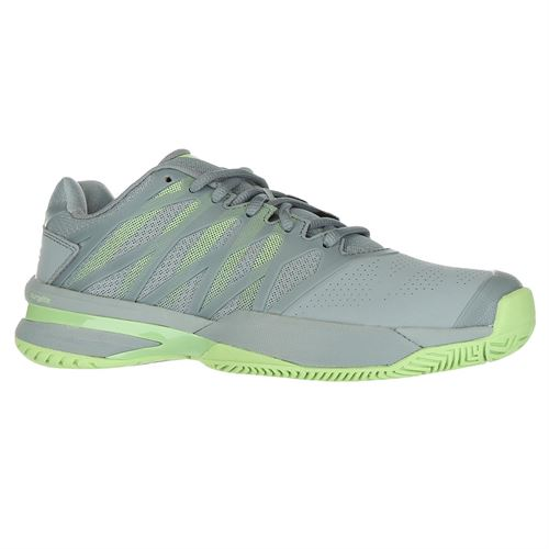 70f77c9cbb3423 K Swiss Ultra Shot 2 Womens Tennis Shoe - Abyss Paradise Green