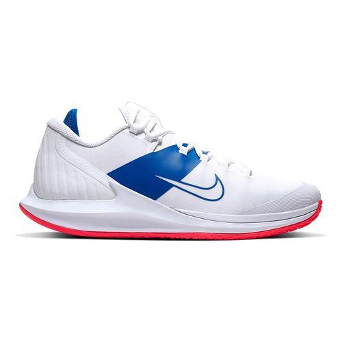 Nike Court Air Zoom Zero Mens Tennis Shoe White/Game Royal/Flash Crimson AA8018 103
