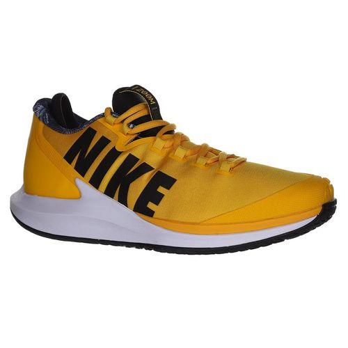Nike Court Air Zoom Zero Mens Tennis Shoe - University Gold/Black/White/Volt Glow