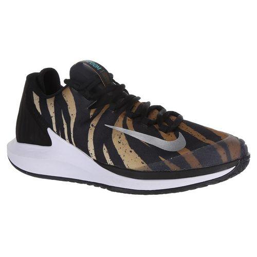 Nike Court Air Zoom Zero Mens Tennis Shoe - Wheat/Metallic Silver/Hyper Jade