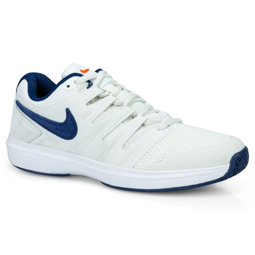 official photos e5c84 4232f Nike Air Zoom Prestige Mens Tennis Shoe - Phantom Blue Void Sail Orange  Blaze