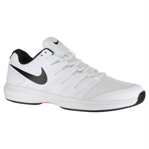 Nike Air Zoom Prestige Mens Tennis Shoe - White Black Bright Crimson bae10fd16
