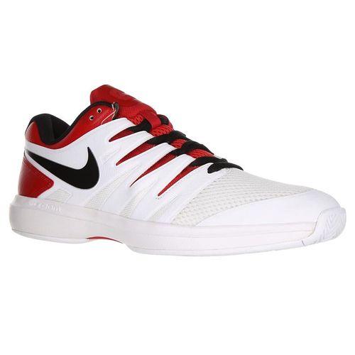 Nike Air Zoom Prestige Mens Tennis Shoe - University Red/Black/White