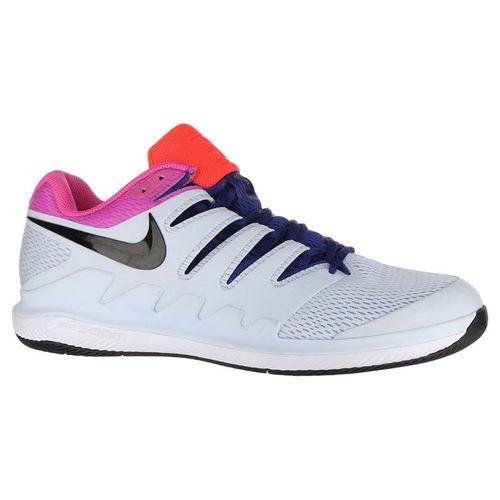 Nike Air Zoom Vapor X Clay Mens Tennis Shoe - Half Blue/Black/White/Laser Fuchsia